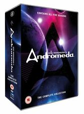 """ANDROMEDA COMPLETE SERIES COLLECTION 1-5 DVD BOX SET 30 DISCS """"NEW&SEALED"""""""