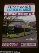 TRAMWAYS & URBAN TRANSIT # 785 - DUBLIN LUAS - MAY 2003