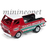 JOHNNY LIGHTNING JLSP009 HOBBY EXCLUSIVE DODGE A100 TEXACO OIL 1/64 DIECAST  RED