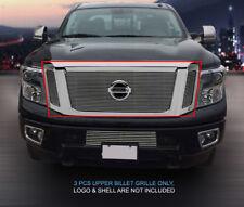 Fedar Fits 2016 Nissan Titan Polished Billet Grille Insert