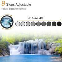 Camera adjustable neutral density filter ND2-400 adjustable Sale filter Hot T9A3