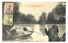SENEGAL 1906  PPC -SHIP LINE PM =BUENOS AYERS  -BORDEAUX  LKN = TO BELGIUM