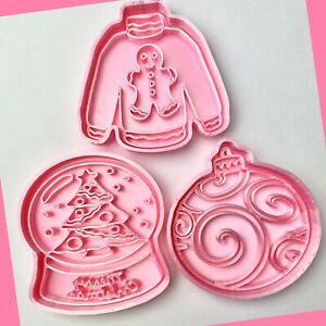 Set of 3 Christmas Cookie Cutters