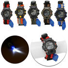 9 in 1 Survival Paracord Bracelet Compass LED Watch Flint Fire Starter Whistle