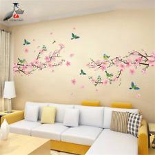 Wall Stickers Beautiful Flower Tree Bird Bedroom Living Room Home Decor New