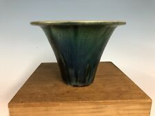 Beautiful Green Glazed Shohin Size Bonsai Tree Pot By Fugushige Bushuan 8 1/8�