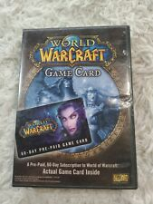 World of Warcraft Wow 60 DAY CARD & TIME ARE NOT INCLUDED - Americas & Oceania