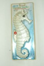 Sea Horse Shower Radio with Alarm and Suction Cup (Nip)