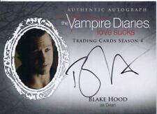 Vampire Diaries Season 4 Autograph Card BH Blake Hood as Dean