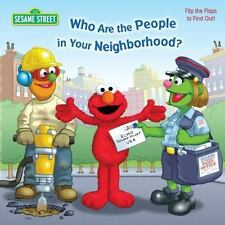 Who Are the People in Your Neighborhood (Sesame Street)-ExLibrary
