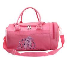 Kids Girls Cute Dance Bag Ballet Shoulder Bags Dance Pink Make Up Handbag US b79a3900c8b0e