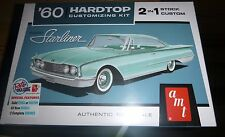 AMT 1960 Ford STARLINER HARDTOP 1/25 Model Car Mountain FS 2n1 RETRO NEW!