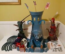 1986 Mattel Masters Of The Universe MOTU Eternia Playset NEAR COMPLETE WORKS