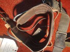 Buckingham D Body Belt R Leather Size22 - Ca 8426 + canvas belt
