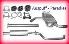 Abgasanlage Auspuff Endtopf VW Golf Plus 1.2 TSi 77KW Fließheck Typ 5M1, 521+Kit
