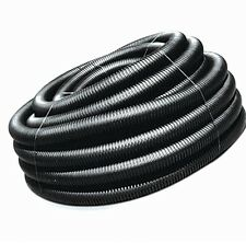 ADS 3-in x 50-ft Corrugated Solid Pipe Drain Flexible Durable X Plastic