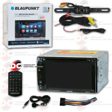 "BLAUPUNKT 2-DIN 6.2"" TOUCHSCREEN DVD BLUETOOTH STEREO FREE LICENSE PLATE CAMERA"