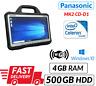 Rápido MK2 Panasonic Toughbook CF-D1 Tableta 4GB 500GB Bluetooth Carga Calidad A