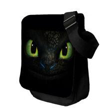 Toothless Personalised  Medium Pilot Shoulder Bag