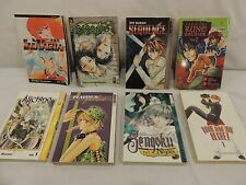 Lot of 8 Japanese Manga Anime Comics for Teens by Various Authors