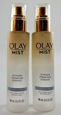 Lot of 2 Olay 3.3 Oz Mist Ultimate Hydration Essence Cooling Cucumber White Mint