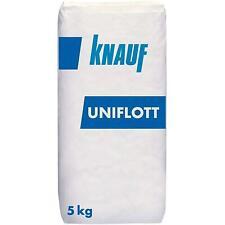 KNAUF Uniflott Gips-Spachtelmasse für Trockenbausysteme, 5 kg