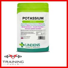 Lindens Potassium 200mg, 100 Tablets, Blood Pressure, Muscle Function