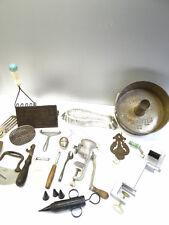 Vintage Restaurant Kitchen Baking Food Prep Tools Cake Decorator Peeler Steeper