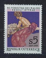 AUSTRIA 1989 MNH SC.1452 Fine Art by Rudolf Jettmar