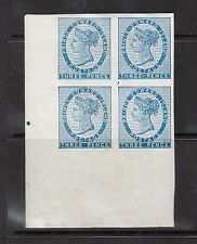 Prince Edward Island #6b XF/NH Imperforate Corner Block With Expert Handstamp