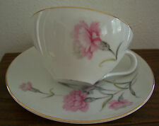⭐ON SALE!⭐ Royal Court Fine China JAPAN Pink Carnation 6 Cup & 6 Saucers