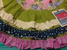 MATILDA JANE Good Hart Sea Salt Skirt Twirl Tutu 2 NWT Girls Ruffle Unique WOW