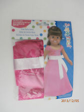 "Springfield 18"" doll Clothes fits American Girl & Others- New- Pink Party Dress"