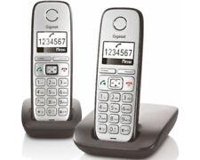 Silberne Schnurlose Telefon Gigaset E310-Sets