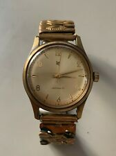 Ancienne montre Lip R23 D plaqué or vintage watch