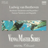 BEETHOVEN: FAMOUS VARIATIONS AND BAGATELLES - CD (1992) CELLO & PIANO