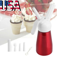 250ML Whipped Cream Dispenser Stainless Steel 500 ml Professional Whipper Maker