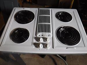 Jenn-Air JED8230 white Electric Cooktop