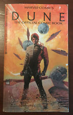 DUNE The Official Comic Book Marvel Comics 1984 ISBN 0-425-07623- FREE SHIPPING