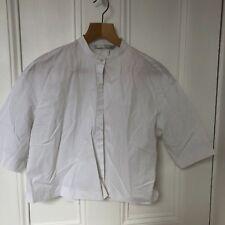 Zara Trafuluc White Cropped Top Size Small