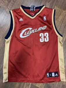 Adidas Nba Cleveland Cavaliers Shaquille Oneal Basketball Jersey Youth Large