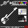 Bass Guitar Custom Vinyl sticker Jazz Laptop Car Window Gibson Fender Music