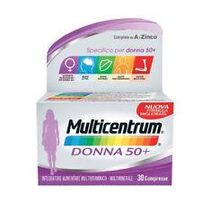 Multicentrum Donna 50+ Integratore 50+Anni Specifico 30 Compresse