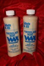 "TWO Collinite #925 Liquid Boat Wax    ""FACTORY FRESH"""