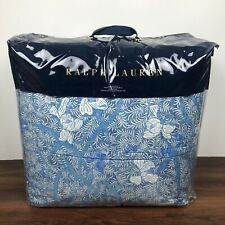 Ralph Lauren Meadow Lane Kaley Blue Multi Floral Full Queen Comforter $355