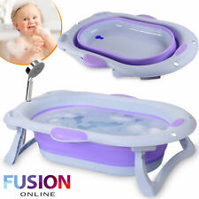 Baby Bath Tub Collapsible Foldable Portable Washing Babies New Born Kids Toddler