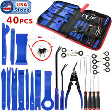 40pcs Trim Removal Tools Car Auto Dash Panel Radio Vedio Installation Kit US