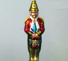 TOY SOLDIER/Drum/Drummer Christmas Ornament by Christopher Radko - #981240