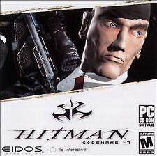 HITMAN CODENAME 47 (2003) PC CD-ROM NEW & FACTORY SEALED