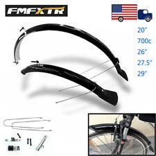 "FMFXTR Light Weight Mudguard 20/26/700c/27.5/29"" Full Length Front&Rear Fenders"